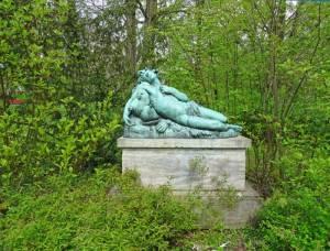 Bacchus im Stadtpark Steglitz (2017) Bacchus, Berlin-Steglitz, Stadtpark Steglitz