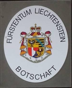 Botschaft des Fürstentums Liechtenstein (2017) Fürstentum Liechtenstein, Berlin-Mitte,
