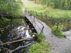 Hajos Brücke 2015 Hajos Brücke, Birkenwerder, Briesetal, Biberburg