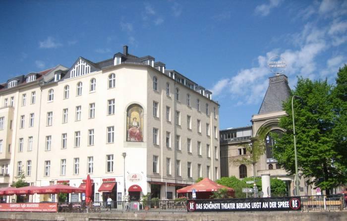 schiffbauerdamm berlin mitte spree regierungsbauten restaurants haus der. Black Bedroom Furniture Sets. Home Design Ideas