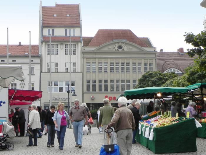 Markt Berlin Spandau Altstadt Stra E Platz