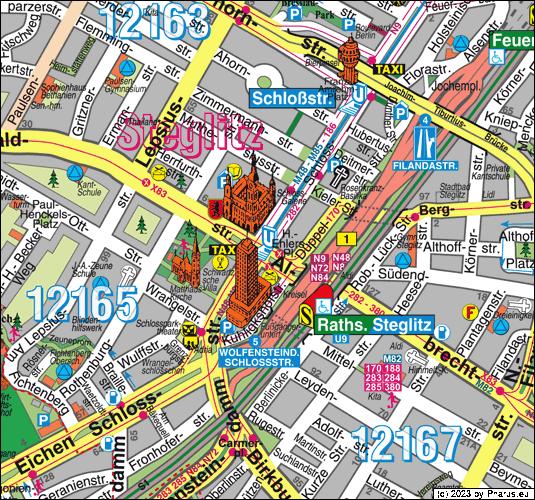 U-Bahnhof Rathaus Steglitz Berlin, 12165 Berlin - Steglitz ...