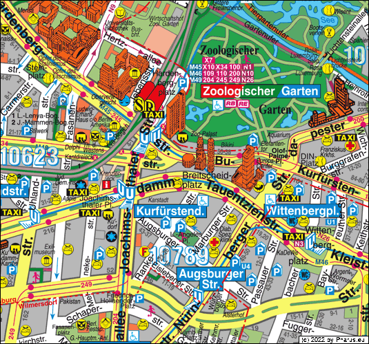 Hotels Berlin Zoologischer Garten: Breitscheidplatz Berlin, 10789 Berlin