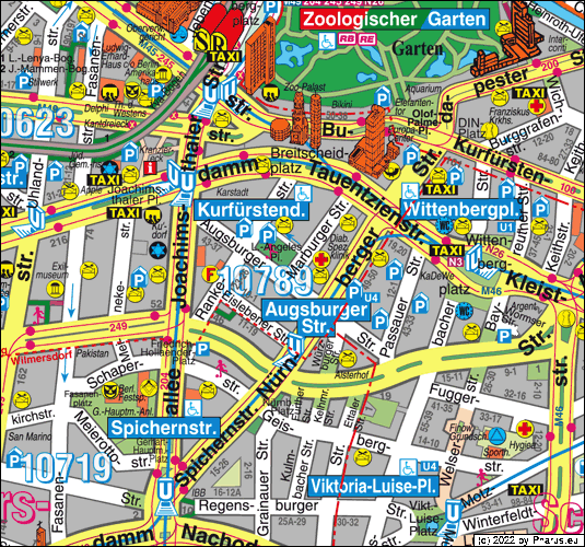 Marburger Straße Berlin - Charlottenburg