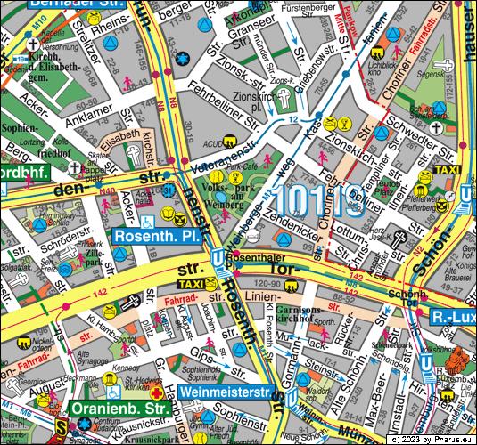 Gorki Park Berlin, 10119 Berlin - Mitte [Bar / Club]