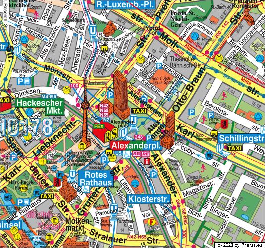 Berlin Mitte Karte.Alexanderplatz Berlin 10178 Berlin Mitte