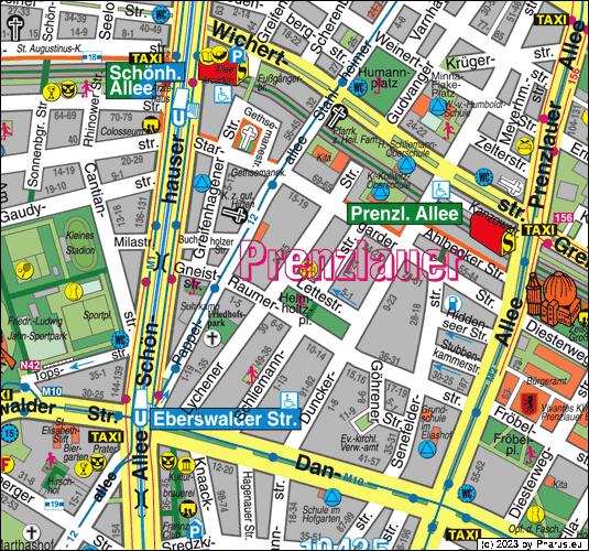 Lettestraße Berlin 10437 Berlin Prenzlauer Berg
