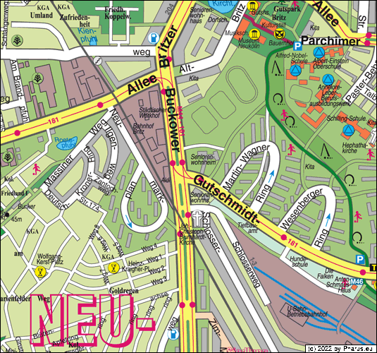 Gutschmidtstraße Berlin, 12359 Berlin - Britz [Straße / Platz]