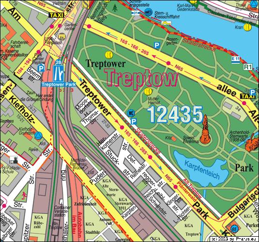 am treptower park berlin 12435 berlin alt treptow busparkplatz. Black Bedroom Furniture Sets. Home Design Ideas