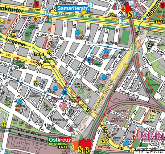 Müggelstraße Berlin müggelstraße berlin 10247 berlin friedrichshain