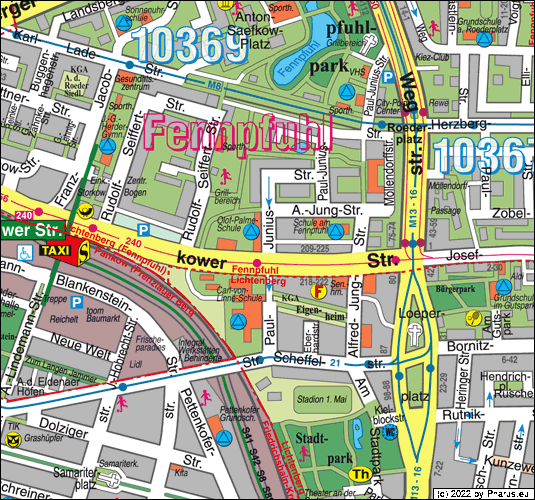 Paul-Junius-Straße Berlin - Lichtenberg