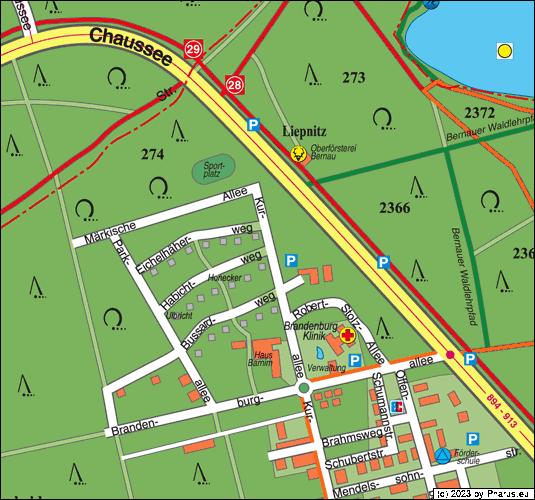 16321 Bernau Waldsiedlung
